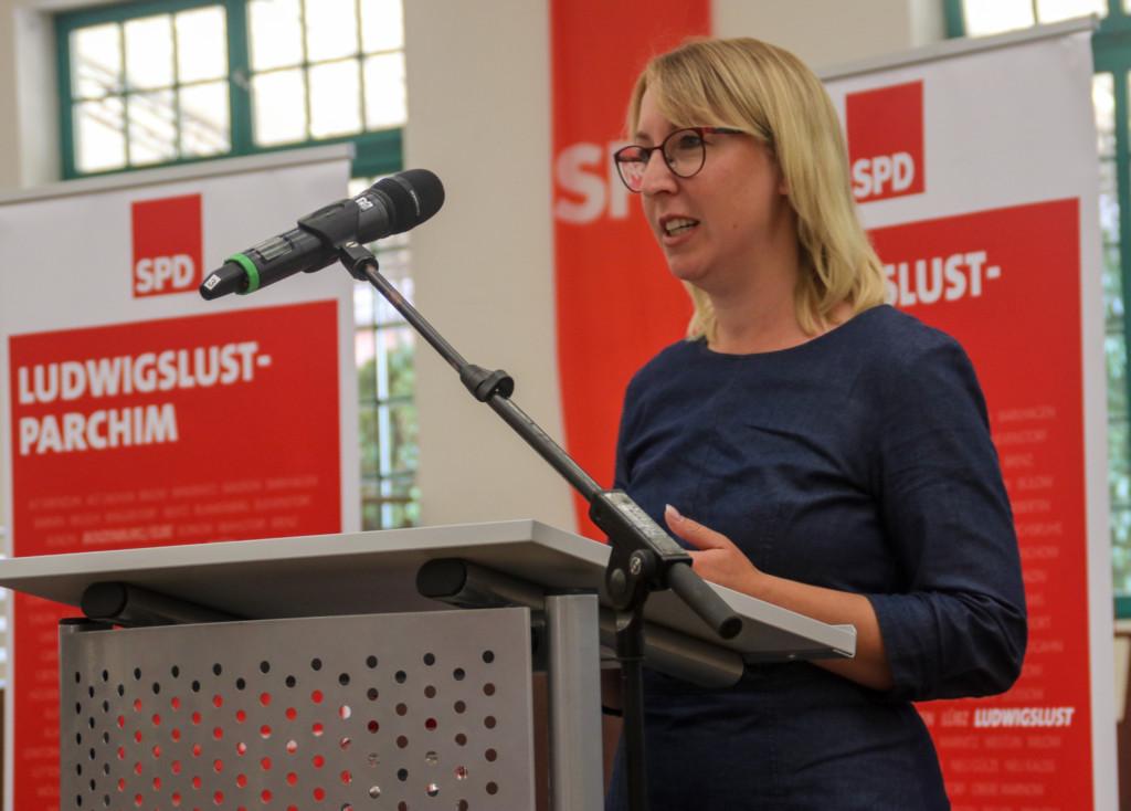 Elisabeth Aßmann in Redefin