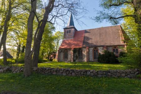 Dorfkirche in der Gemeinde Warsow